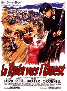 la ruée vers l'ouest film 1960 | affiche La Ruée vers l'Ouest 35346