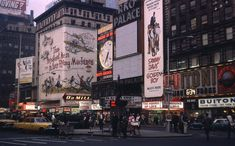 vintage everyday: Kodachrome Slides of New York from the 1940s and 1960s