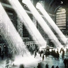 Grand Central.    The light no longer shines in because of the skyscrapers.