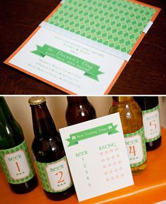 Beer tasting party. Guests bring their beer of choice. Pass out samples, tally the votes, and hand out a prize for the best one!