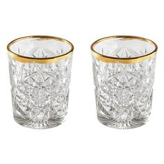 Libbey Hobstar Tumblers L - 2 st. Bestel bij vtwonen by fonQ Whiskey, Kitchen Decor, Candle Holders, Tumblers, Candles, Products, Whisky, Mugs, Travel Mugs