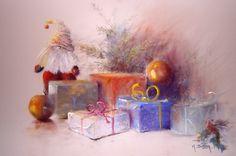 Blog, Christmas, Painting, Artists, Childhood Memories, Noel, Pastel, Christmas Time, Draw