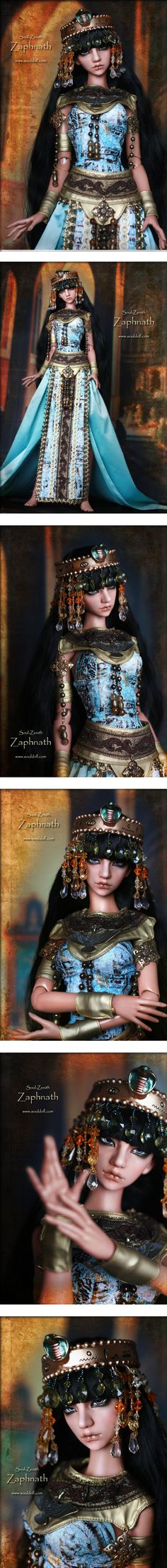 Zaphnath 63cm, Soul Doll - BJD Dolls, Accessories - Alice's Collections