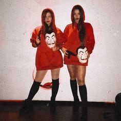 La casa de papel Kostüm ideen for 2 friends scary