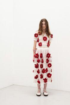 リトゥンアフターワーズ 2017年春夏コレクション - 花が教えてくれた、装うことの楽しみ | ニュース - ファッションプレス