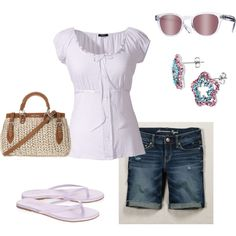 Summer Pink, created by littlemomentofpeace.polyvore.com