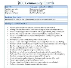 Church Greeter Volunteer Job Description  Church Managment