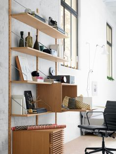 Modern works. Royal Storage Collection can double as a work station.