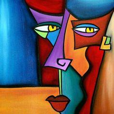 The Modern Art Movements – Buy Abstract Art Right Portraits Cubistes, Art Visage, Cubist Art, Frida Art, Modern Art Movements, Abstract Face Art, Modern Canvas Art, Modern Art Paintings, Acrylic Paintings