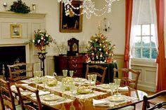 A 1940s Bassett Hall Christmas. #HistoricHoliday