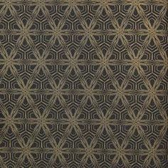 Black and Gold Geometric KR402 Wallpaper from the Globalove Collection – BURKE DECOR