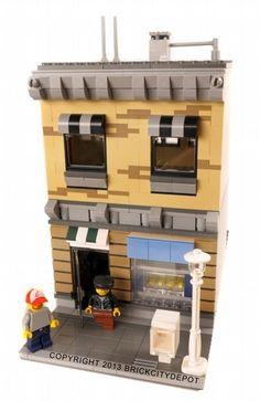 Town Shop - Grand Emporium Alternative: A LEGO® creation by Brian Lyles : MOCpages.com