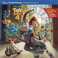Toy story 4 read-along storybook and CD / adapted by Bill Scollon ; illustrated by the Disney Storybook Art Team. Disney Toys, Disney Pixar, Long Lost Friend, Audio, New Children's Books, Buy Toys, Pixar Movies, Walt Disney Company, Book Reader