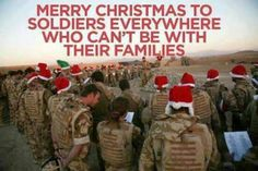 Remember Troops at Christmas Merry Christmas To You, All Things Christmas, Christmas Holidays, Christmas Recipes, Christmas Ideas, Support Our Troops, Real Hero, God Bless America, Always Remember