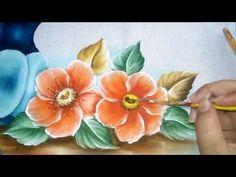 Aprenda a fazer pinturas em tecido e desenhos de flores frutas bonequinhas e muito mais, e adquira os risco em meu blogger Risco e Blogger: http://todasascoresdaarte.blogspot.co...