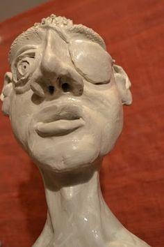 Clay sculpture - Jacques - by martiensbekker.co.uk