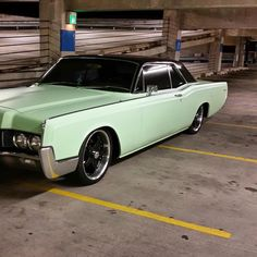 66 Lincoln ContCoupe Picture by Rally Ways  Triple Black 66