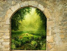 Fantazie, Brána, Oblouk, Portál, Magie, Umění