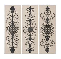 Deco 79 Wood Metal Decor Wall 36 By 12 Inch 3