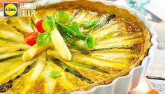 Quiche ze szparagami. Kuchnia Lidla - Lidl Polska. #lidl #quiche #szparagi