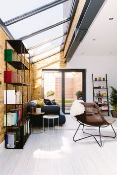 A shot towards the end of a side return extension Side return extensions can be the perfect solution for turning poorly laid out, rarely used, dark rooms into bright, open plan spaces. Here's what you should know before planning a side return extension