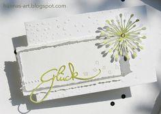 """""""Hannas Art"""" ist meine Weise Papierwerke zu gestalten, mit Stempeln, Stanzen, Designerpapier und viel Liebe!"""