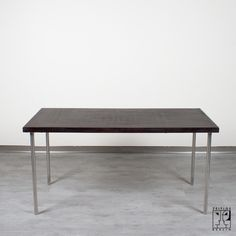 Rare dining table B 14/3 by Marcel Breuer for Thonet in 1934