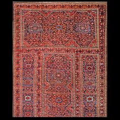 Afshar Rug - 40-390 | Persian Informal 12' 6'' x 24' 0'' | Red, Origin Persia…