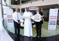 Keys to All New Toyota Fortuner Presented to Ramadan Campaign Winner
