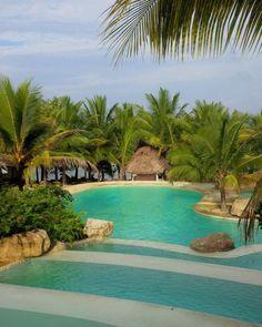 It's a beautiful world. Swahili Resort, Diani Beach / Kenya (by Claudia Stucki). Diani Beach Kenya, Mombasa Kenya, Beach Hotels, Beach Resorts, Hotels And Resorts, Beautiful World, Beautiful Places, Kenya Travel, Africa Travel