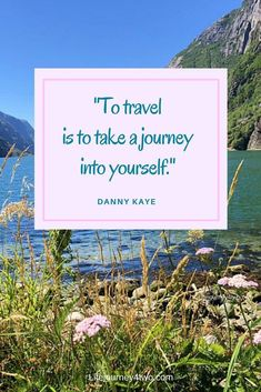 Travel inspirational quote, To travel is to take a journey into yourself. Powerful Motivational Quotes, Inspirational Quotes, Positive Quotes, Dream Quotes, Life Quotes, Quotes Quotes, Daily Inspiration Quotes, Travel Inspiration, Great Quotes About Life