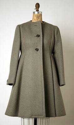 Geoffrey Beene   Coat   American 1963-69 Wool
