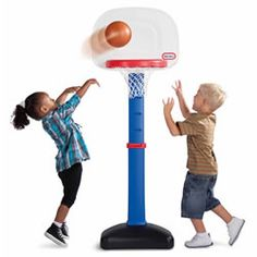 Play ball with Basketball for little tots!