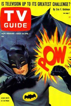 TV Guide, March 26, 1966 — Adam West as Batman (1966-68, ABC)