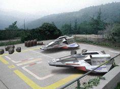 Star Trek Archangel shuttle landing-area
