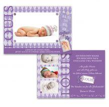 Babykarten, Geburtskarten, Geburtsanzeige - Fennstaub.at