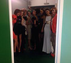 #Backstage #IntermodaBilbao2014 Backstage, Sports, Tops, Fashion, Curls, Hs Sports, Moda, Fashion Styles, Sport