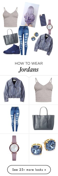 """""""#NightOut #Casual #Modern"""" by renaeysylvia on Polyvore featuring WithChic, NIKE, BasicGrey, Acne Studios, Lanvin, Casetify, Emporio Armani, Tory Burch, modern and hairtrend"""