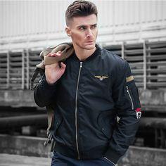 Autumn Thick Bomber Flight Jacket Men Men s Jackets And Coats Military  Jacket For Men Chaqueta Cazadoras 0ed30a86764