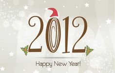 Happy New Year 2012 Vector Templates Set - http://www.welovesolo.com/happy-new-year-2012-vector-templates-set/