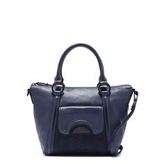 REFLECTA LEATHER DAY BAG