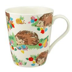 Hedgehogs Stanley Mug   Mugs   CathKidston