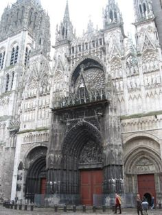 Monet's Cathedral - Rennes, France - This is in the City I'm staying over Christmas!