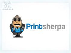 Logo for Printsherpa by darksamurai
