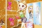 Sara is very happy because she has a day off work today and wants to spend doing what she likes best shopping and she is delighted. Join Sarah in this awesome dress up game and have fun creating amazing trendy outfits perfect for a girl shopping for her. Use your imagination and good taste in a way