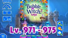 Bubble Witch Saga 2 Level 971 - 975 (1080p/60fps)