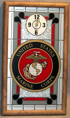 Marine Wall Clock Made in the USA! WAS: $59.99 SALE PRICE: $29.99 Semperfi, USMC, Vets,Veterans, Gifts, Christmas, Specials, Discounts, Savings. While Supplies Last. CLICK IMAGE TO BUY NOW