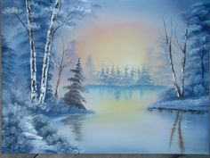 bob ross paintings for sale Oil Painting Pictures, Pictures To Paint, Oil Painting For Sale, Paintings For Sale, Orlando Floride, Peintures Bob Ross, Landscape Paintings, Watercolor Paintings, Landscape Wallpaper