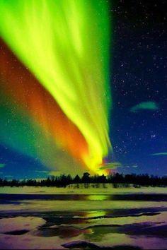 #travel #alaska #northernlights
