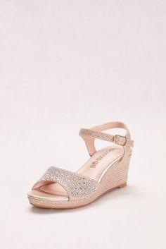 92499649b050 Crystal Cross Strap Wedge Wedding   Bridesmaid Sandal - Silver